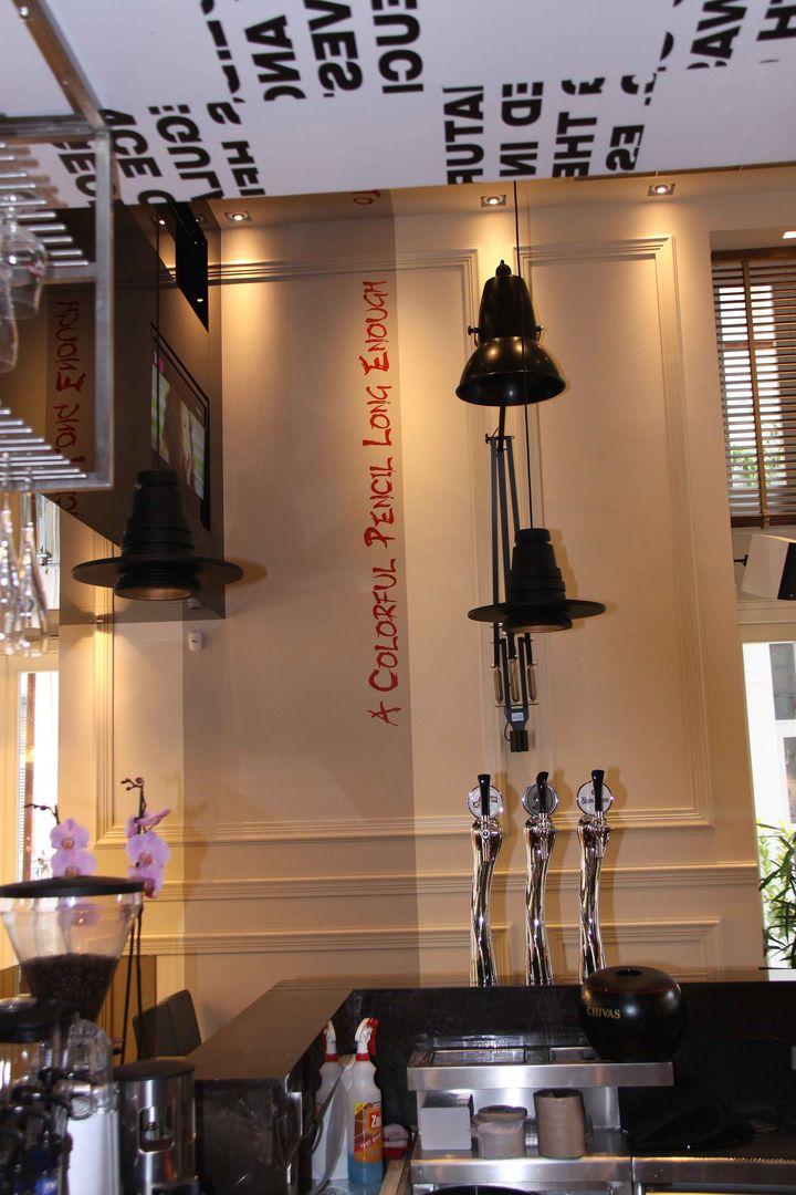 威武简约时尚咖啡厅设计—威武特色咖啡厅装修设计