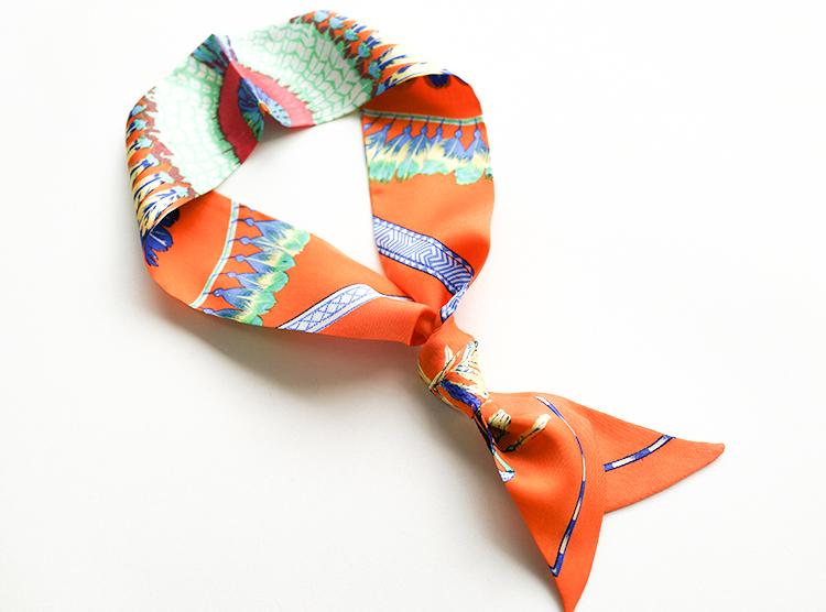 丝巾图片_长丝巾的各种围法图片