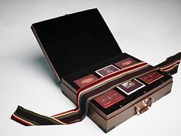 商务恋爱  黑巧克力礼盒包装
