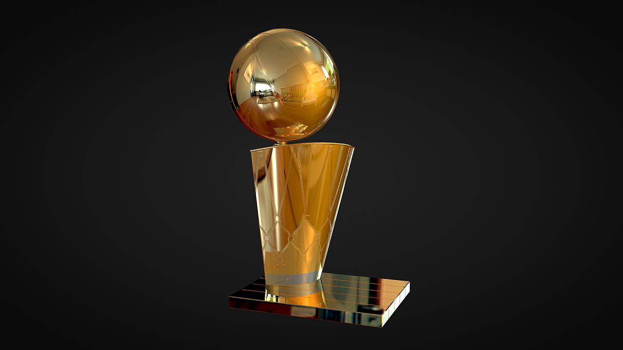 NBA总冠军奖杯 NBA Championship Trophy 三维 其他三维 demo04 - 原创作品 - 站酷 (ZCOOL)