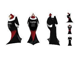 2010 CAPEL 酒瓶包装