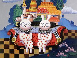 兔毛柔的小屋系列