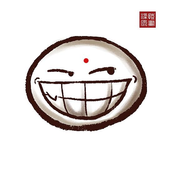䷹�c��#�i#ya�_原创小妖野蛮蛮表情包|插画|概念设定|梁原凯-原创作品-站酷