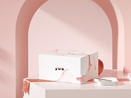 未来事多 × 积慕 |「桃桃」主题糕点包装主视觉设计