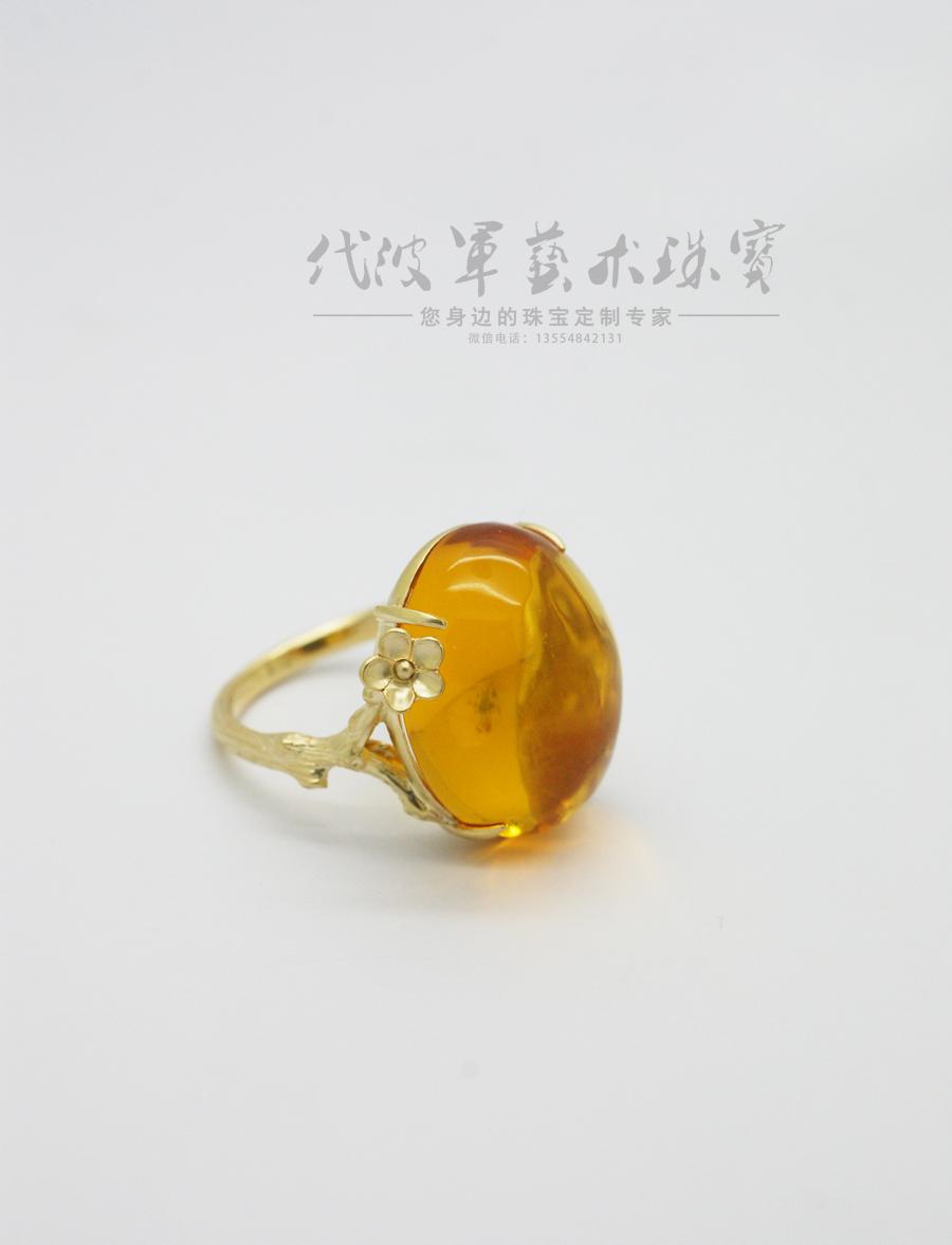 查看《代波军艺术珠宝定制-----蜜蜡就像黄昏的后花园》原图,原图尺寸:900x1177