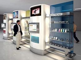 产品设计_自动售货机设计_外观设计——结构设计