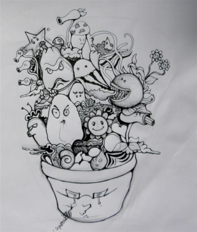 查看《好玩的手绘》原图,原图尺寸:670x789