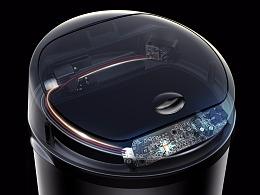 自动感应电动桶-解析图绘制教程