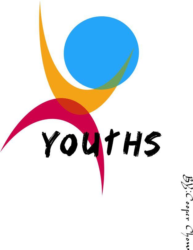 青年志愿者徽标