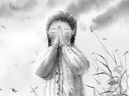 韩青辰作品系列--《小证人》插画