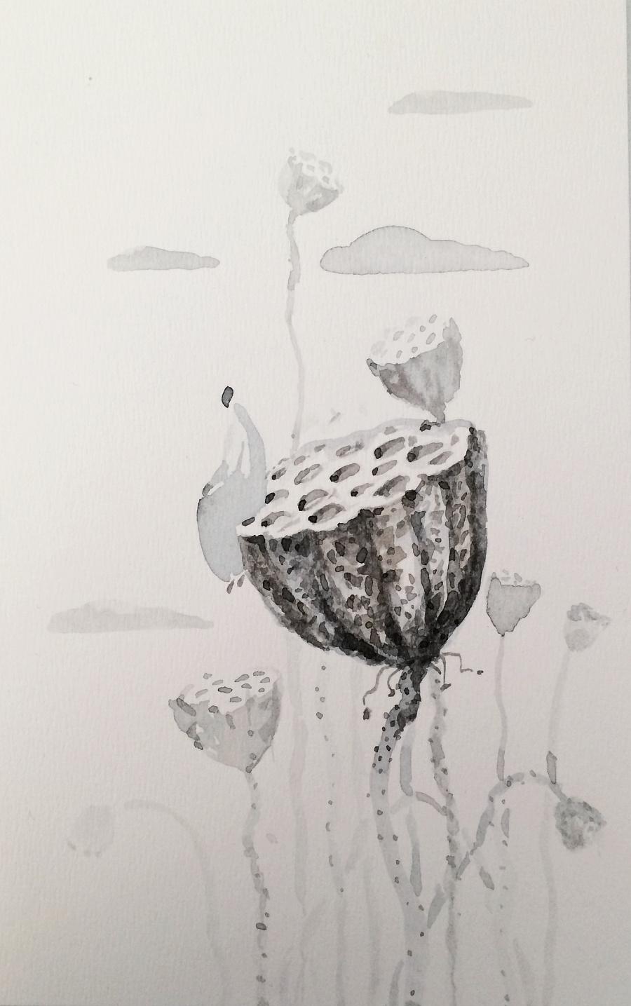 查看《吉祥物语插画日记【三十二】之水彩明信片》原图,原图尺寸:1424x2270