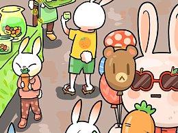 兔子村的春季市集