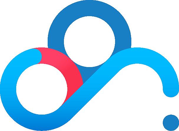 ai临摹练习-baidu cloud logo
