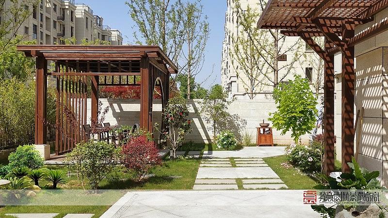 郑州庭院设计公司_家庭庭院门楼设计_日本庭院景致设计
