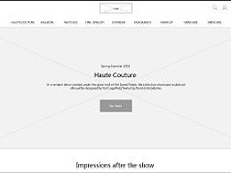 奢侈品官网类Web原型制作分享-CHANEL