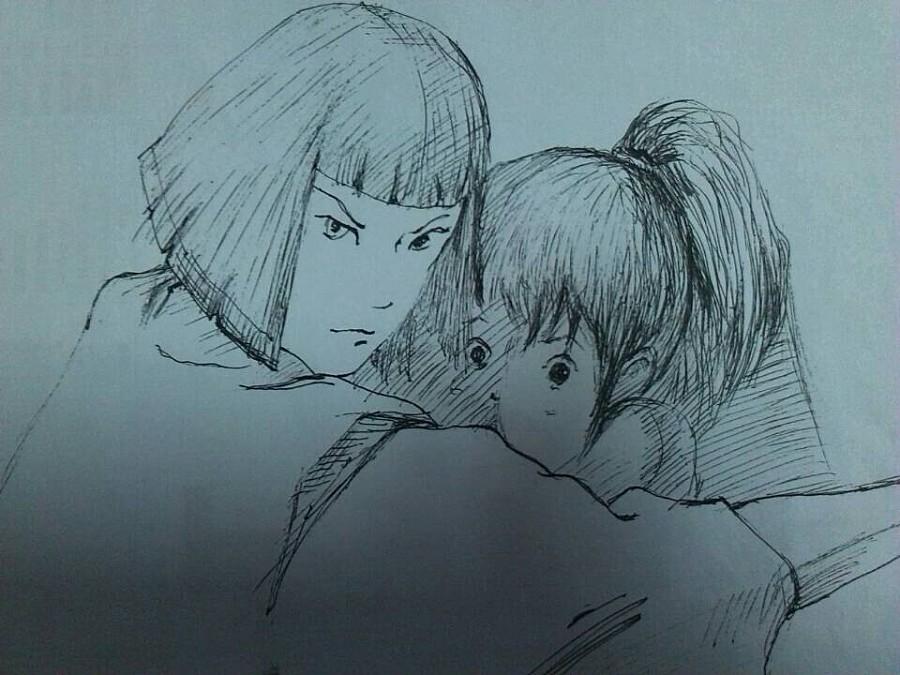 简单手绘几张喜欢的动漫|肖像漫画|动漫|liuguanzhen