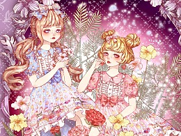 lolita小裙子立绘合集