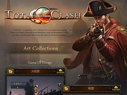 《Total Clash》游戏美术汇总