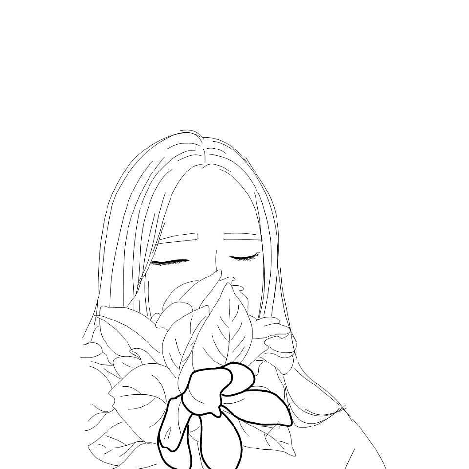 手绘头像|插画|插画习作|爱学习的哥斯拉 - 原创作品