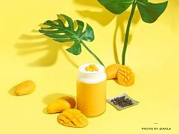 黄与黄的较量   芒果 x 菠萝