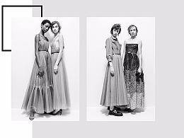Dior网页界面设计