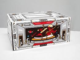 黑豆AheadOf潮牌鞋盒设计