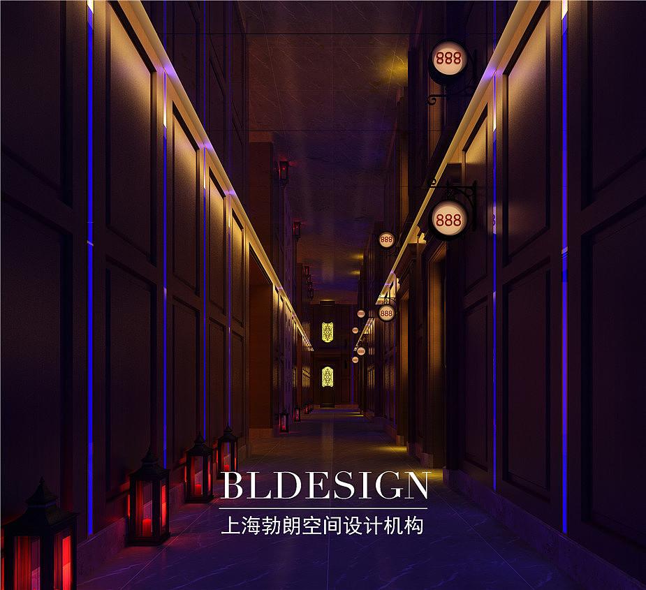 郑州主题会所设计公司:长葛量贩式复古时尚主题ktv设计效果图