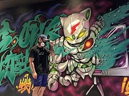 Pitbeat比特《近年来的实体涂鸦作品合集》