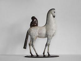 艺术家-张岩《相马》