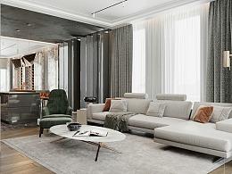 极致优雅的艺术与现实融合 后现代风格设计