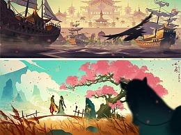 游戏CG动画 概念分镜