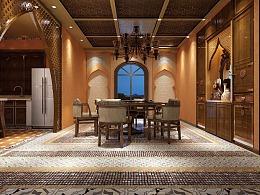 摩洛哥异域酒店设计方案效果图
