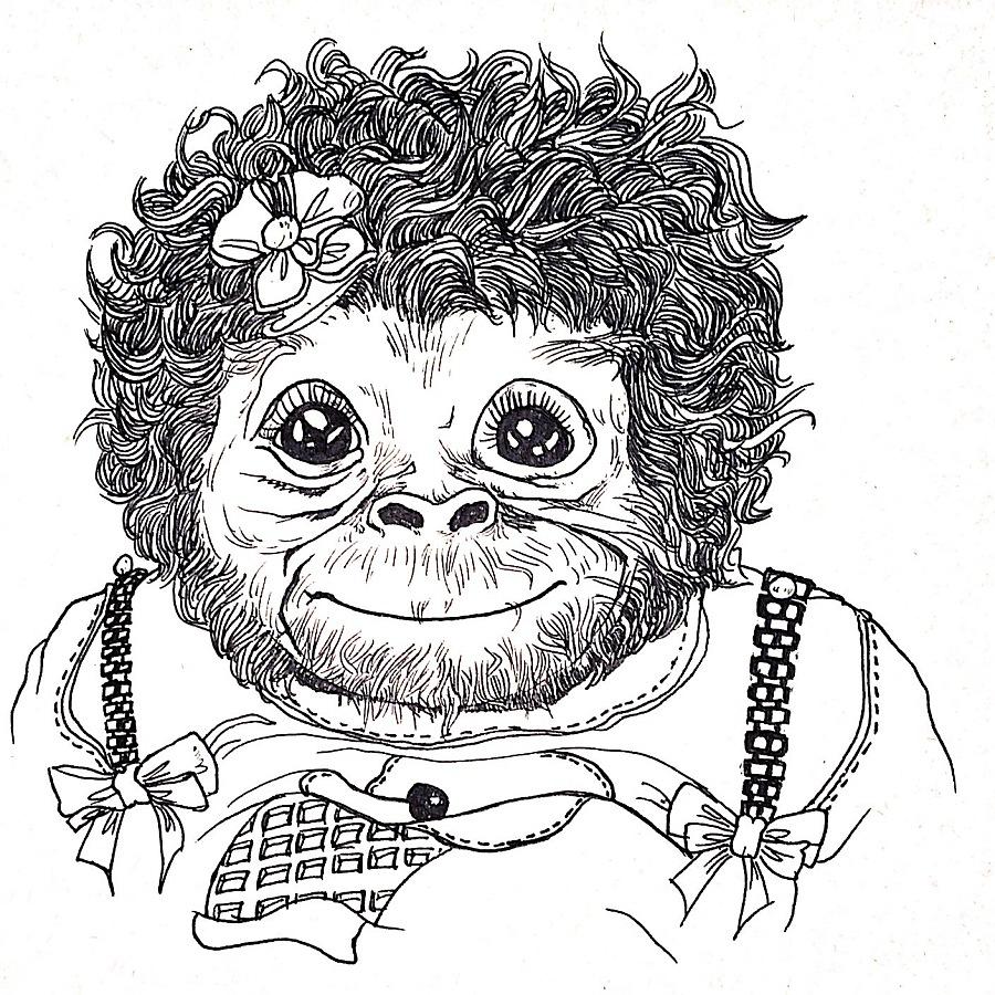 大动物小集合|绘画习作|插画|一只要做考拉的猪