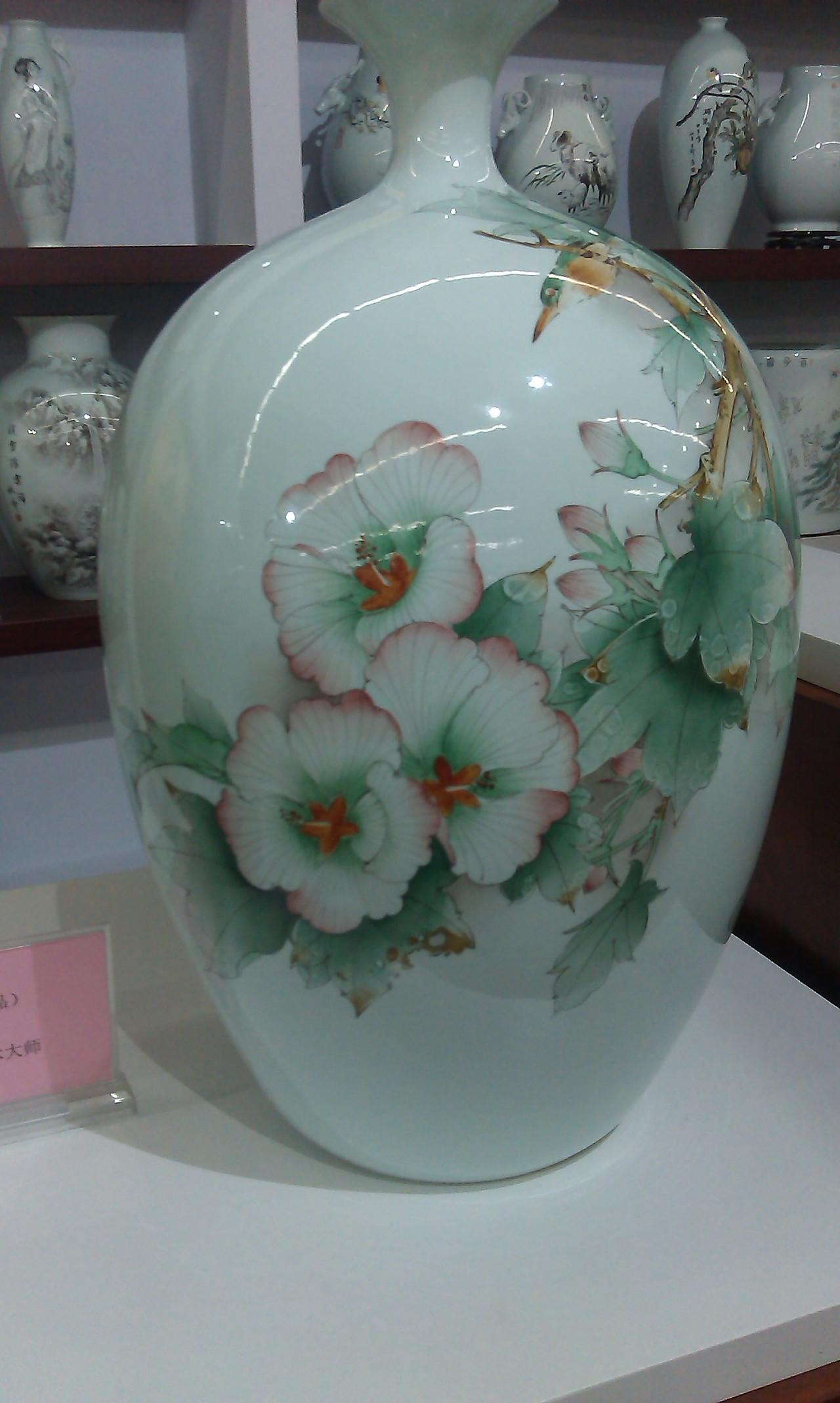 淄博陶瓷彩绘模特名字