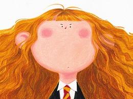 Big Face, Tiny Eyes -- Harry Potter