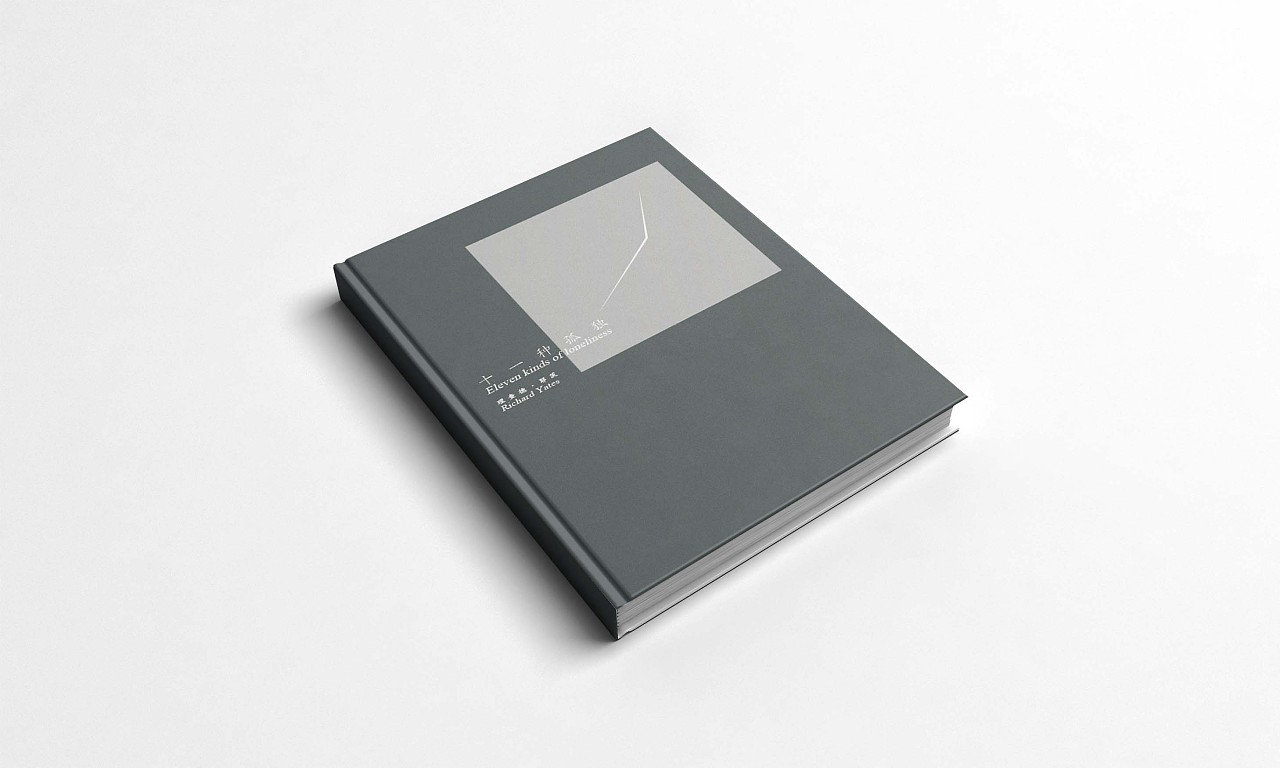 书籍设计《十一种孤独》图片