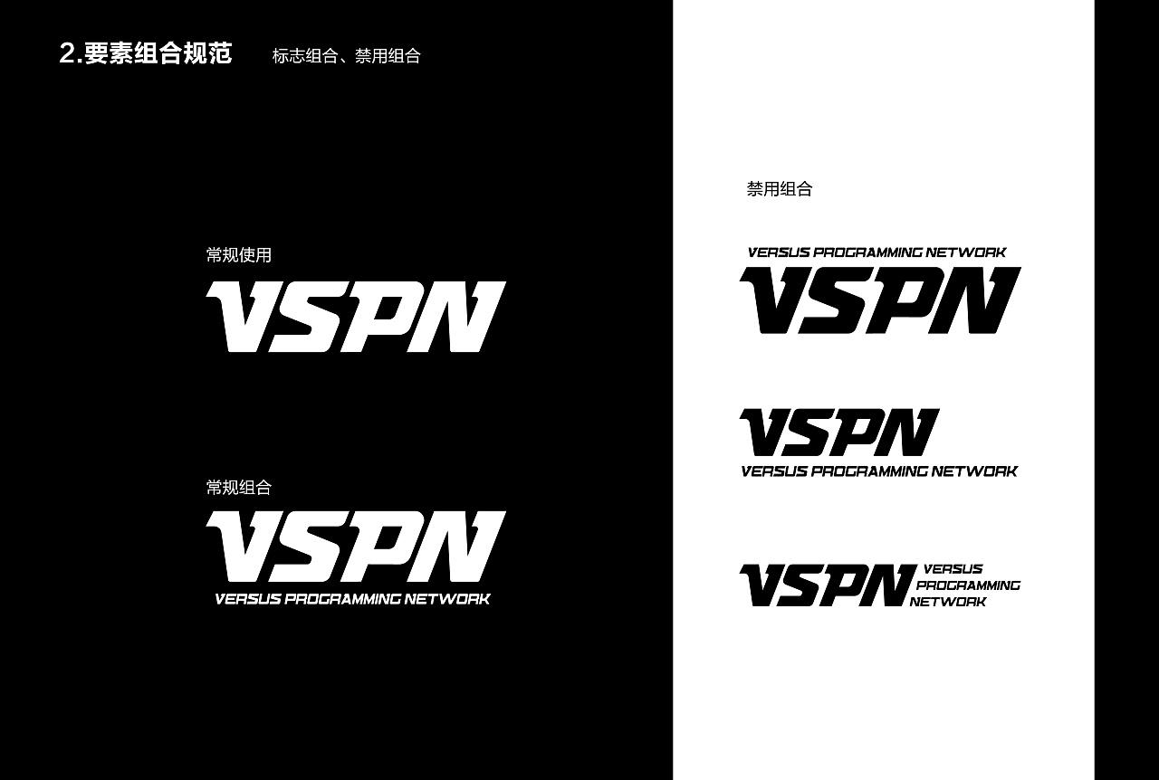VSPN新LOGO VI系统