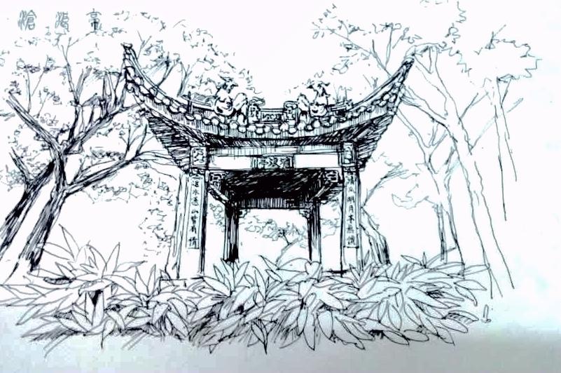 简笔画 手绘 素描 线稿 801_532