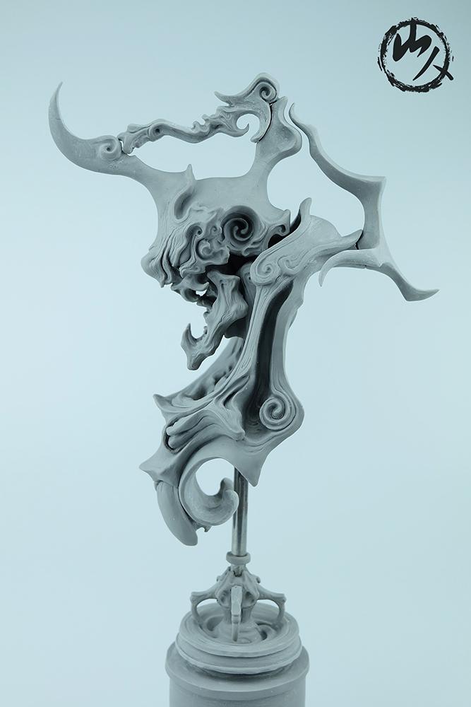 查看《《怒颚摩罗》》原图,原图尺寸:667x1000