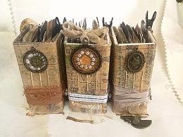 复古手工装饰摆件 junk journal 装饰