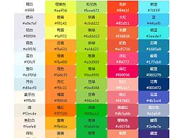 色彩值收集