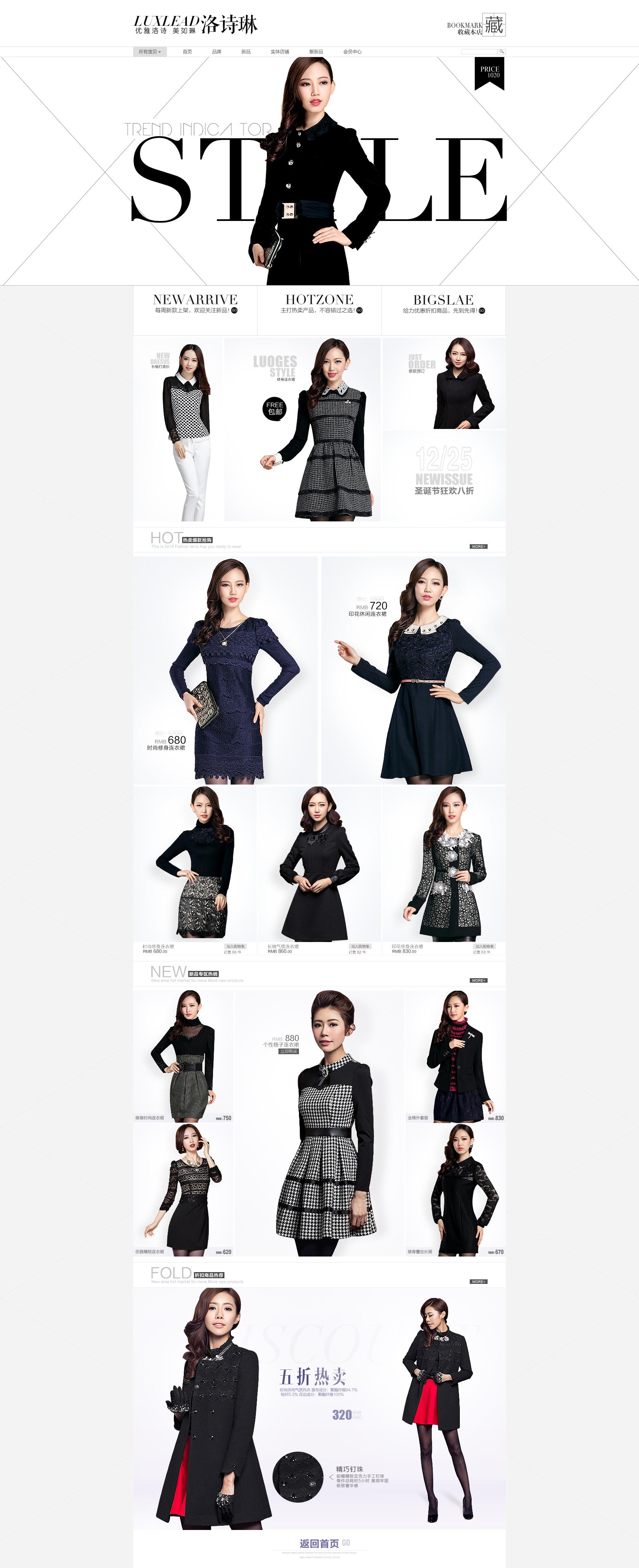 女衣服手绘素材