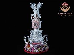 糖艺社顾碧清老师-日本国际糖艺大赛世界翻糖冠军作品