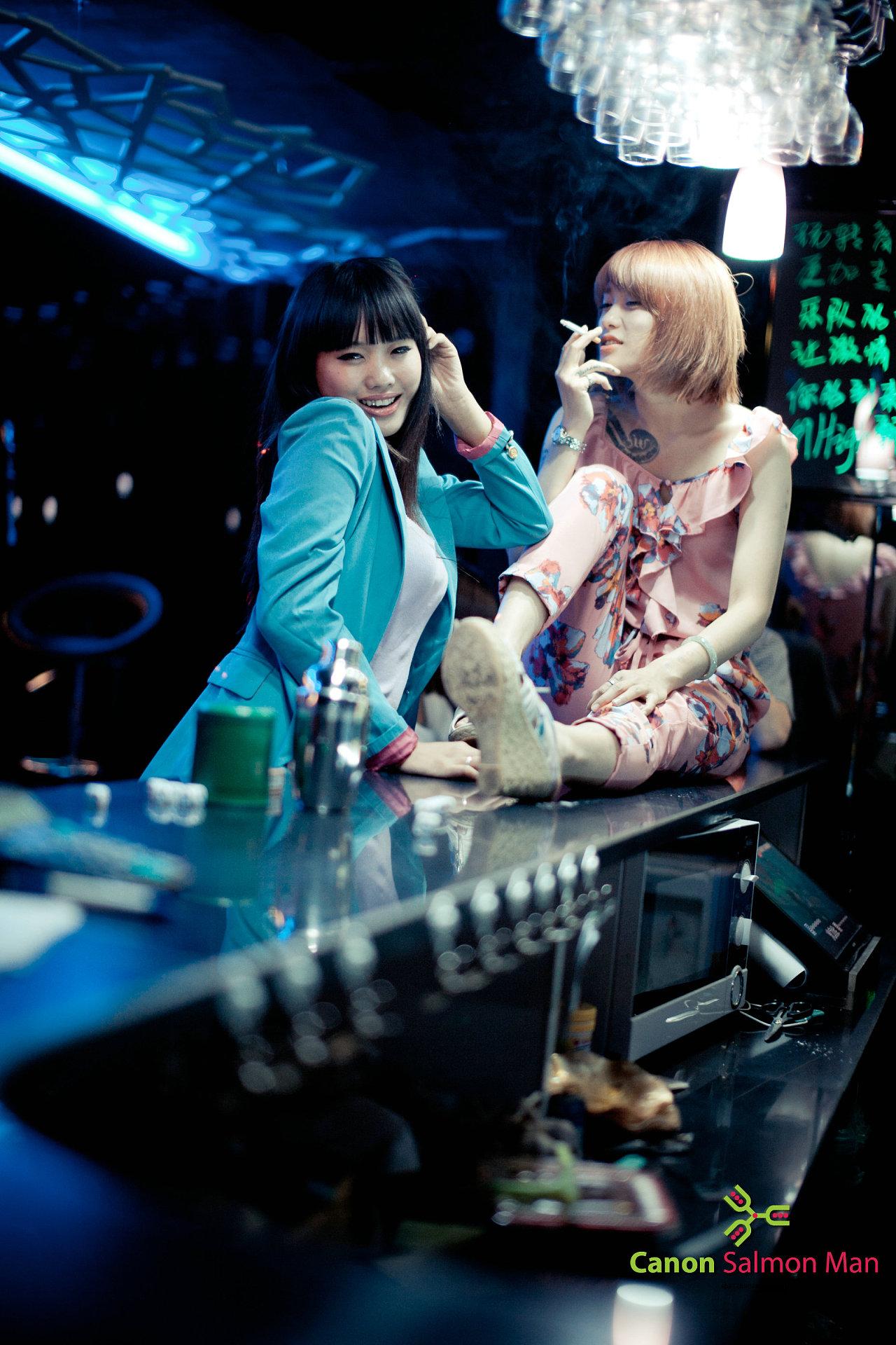 秦皇岛三里屯酒吧人像拍摄