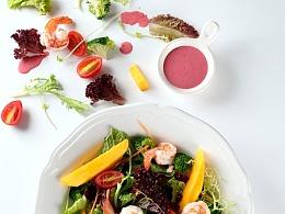 大虾蔬菜沙拉