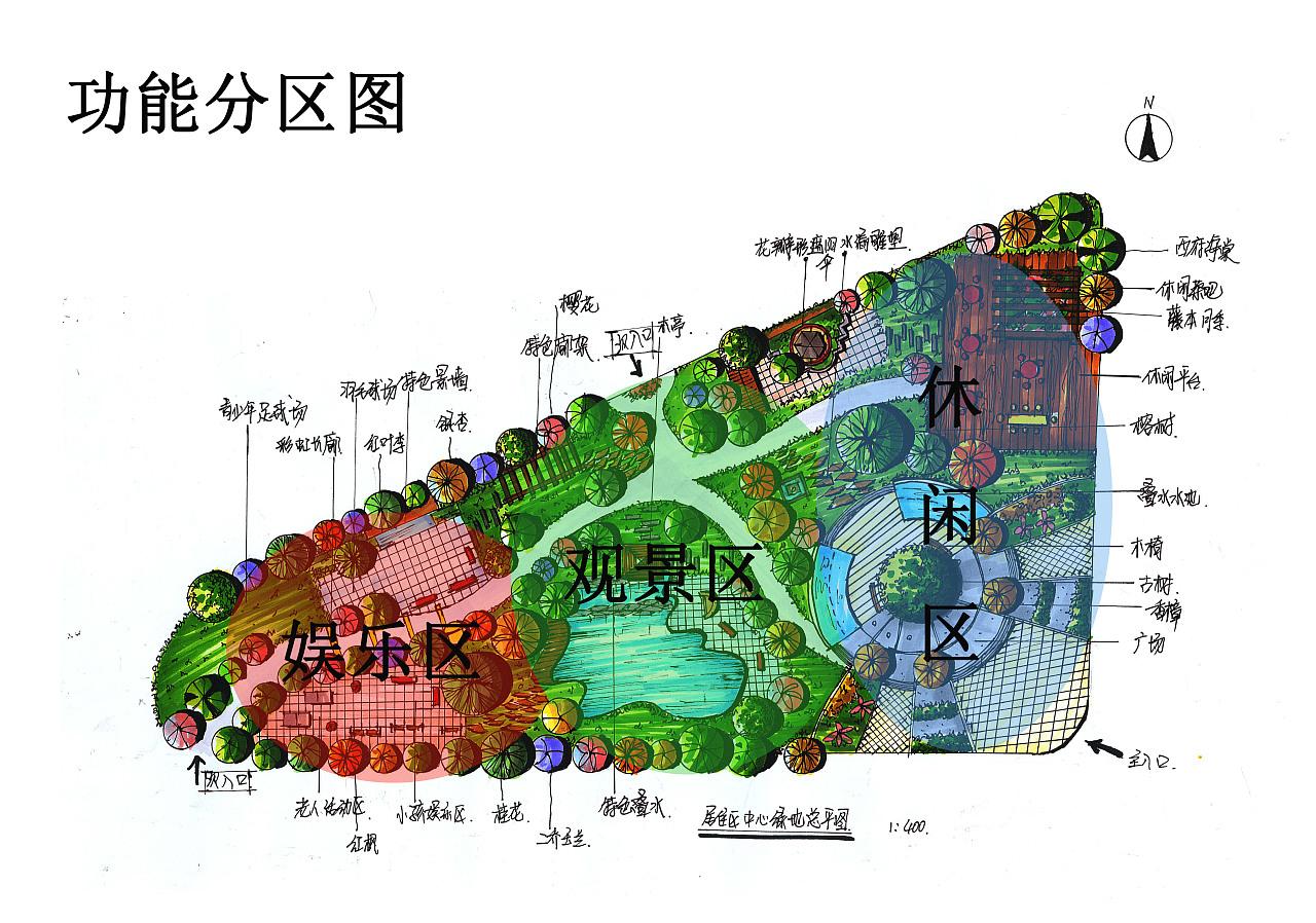 小区绿地设计|其他|文案/策划|画手绘的旋子 - 原创