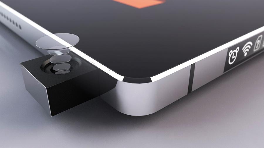 全面屏手机壁纸-概念数码电子产品