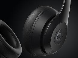 练习beats耳机渲染