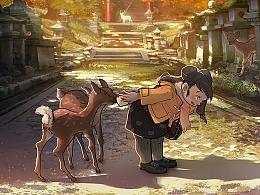 水兵悦的旅行·日本奈良