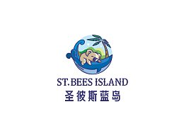 圣彼蓝岛logo设计